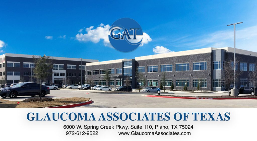Glaucoma Associates of Texas 6000 W. Spring Creek Pkwy, Suite 110, Plano, TX 75024