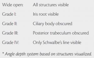 Scheie Classification