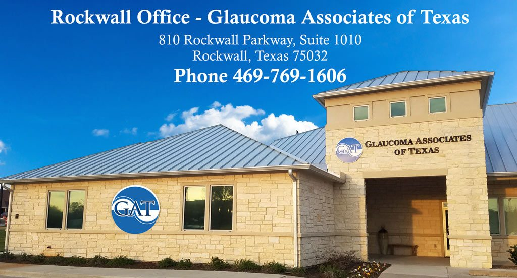 Rockwall Glaucoma Associates of Texas – Rockwall Office building