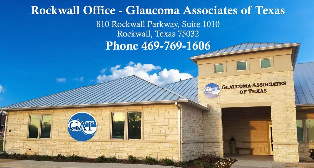 Rockwall Glaucoma Associates of Texas – Rockwall Office building
